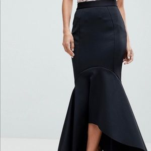 Mermaid midi skirt